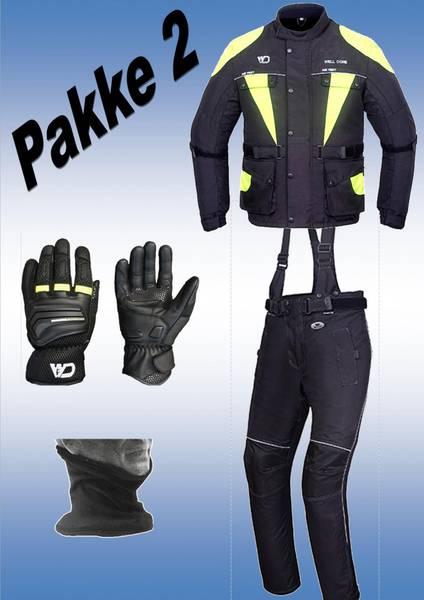 PAKKE 2, jakke,bukse, hansker,halsvarmere